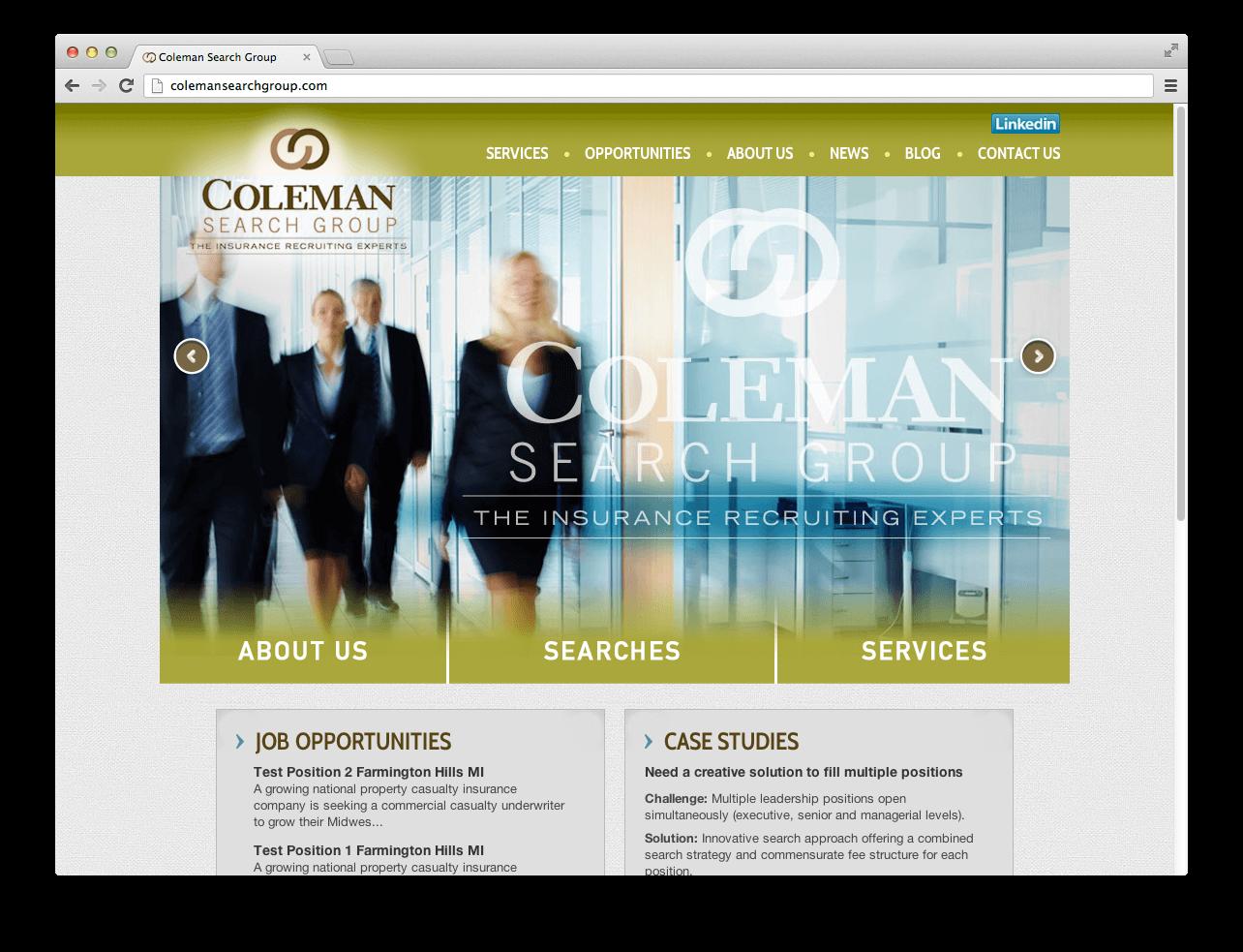 coleman-website
