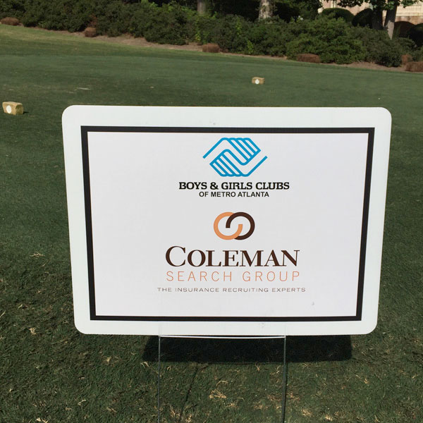 Coleman Search Group supports annual Boys & Girls Clubs of Metro Atlanta Golf Classic