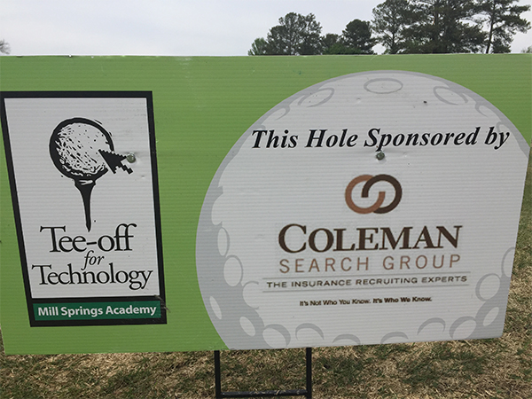 Coleman Search Group Supports Tee-Off for Technology